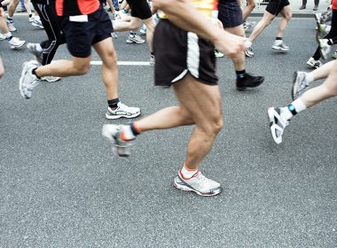 Picture of marathon runners