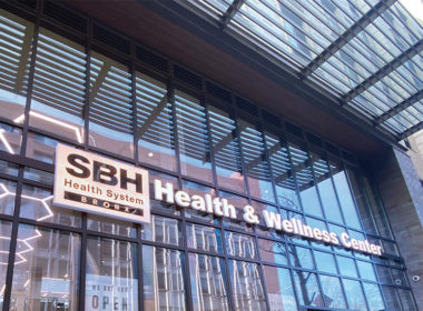 Picture of the front of the SBH Health and Wellness Center